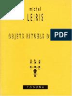 Michel Leiris; Objets Rituels Dogon