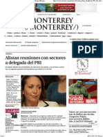 08-12-15 Alistan reuniones con sectores a delegada del PRI