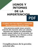 Signos de Hipertension