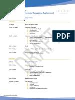 Bahador TR400 GY0 Course Agenda