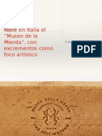 Noticia museo de la caca