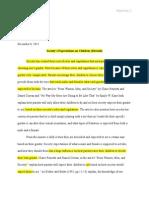 english portfolio progression i revised