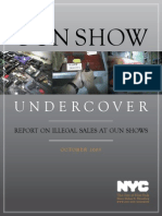 'Gun Show Undercover' report