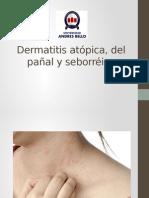 Dermatitis atópica, del pañal y sebooreica