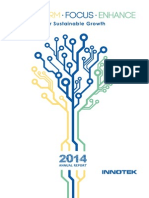 InnoTek Limited Annual Report 2014