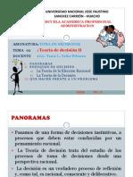 TEORIA DE DECISION II