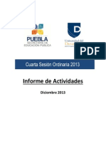 Informe UNIDES 2013