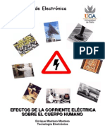 efectos de la corriente electrica