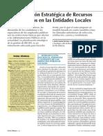 Gestion Estrategica Entidades Locales.