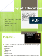 philosophy of education mauss