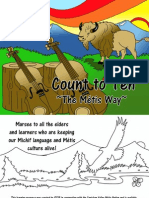 Michif Language Colouring and Activity Book