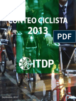 Conteo Ciclista 2013