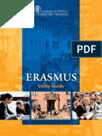 Broschuere Erasmus Freiburg En