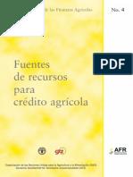 fuentes de recursos para credito agricola.pdf