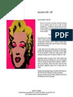 Andy Warhol Screenprints
