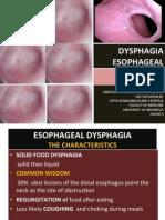 disfagia esofagus
