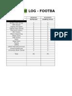 Affidavits - Football - Baltimore (Gameday)