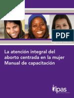 La atención integral del aborto centrada en la mujer