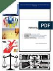 Caratula de Portafolio de Axiologia y Etica