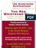 The Red Wristband Ball