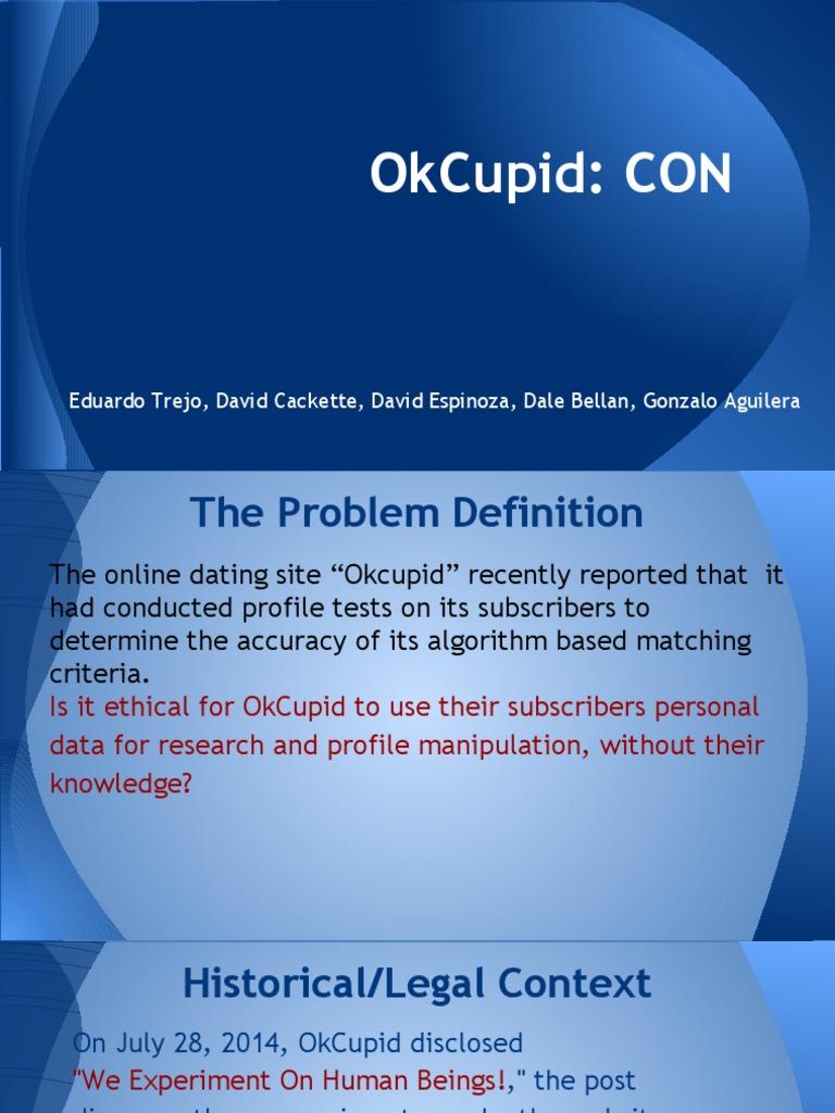 Okcupid dating Personas