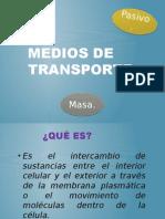 Medios de Transporte Histología.