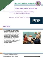 MISION-VISION de La Carrera de Medicina Humana
