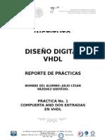 Practica 1 VHDL
