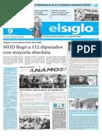 Edicion Impresa El Siglo 09-12-2015