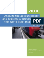 worldbank Inspection and General Administrative Law