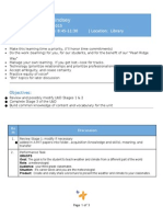 learning plan artifact 1 standard 8