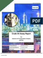 Global Crude Assay Report 15-4019 Doba Crude Rev2
