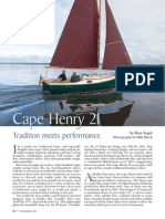 (215) Dudley Dix-Dudley Dix Design Cape Henry 21 Sailboat Boat Yacht Plan Plans-WoodenBoat Magazine (2010)