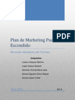 Plan de Marketing Puerto Escondido Entrega Segundo Parcial