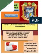 Fármacos Adrenérgicos y Antiadrenérgicos