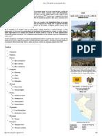 Lima - Wikipedia, La Enciclopedia Libre