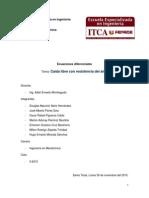 Ecuaciones Diferenciales Con Modela Para Caida Libre