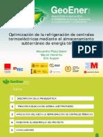 25 Optimizacion de La Refrigeracion de Centrales Geoener 2012
