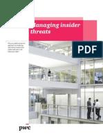 Managing Insider Threats