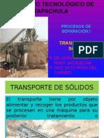Transporte de Solidos 7