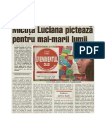 GEORGETA PETROVICI - MICUTA LUCIANA PICTEAZA PENTRU MAI-MARII LUMII