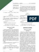 Quimicos - Legislacao Portuguesa - 2003/04 - DL nº 82 - QUALI.PT
