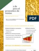 Métodos de Cálculo Para El Pronóstico de Ventas