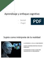 Aprendizaje y enfoque cognitivo+gestalt