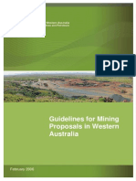 ENV-MEB-200 Guide Line Mining Proposal 2