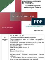Clase 1 Microeconomia Marzo 23 2015