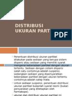 Distribusi Ukuran Partikel