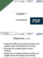 Chapter 07 Input Modules