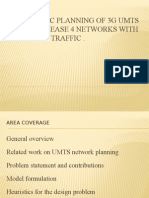 Automatic Planning of 3G UMTS All-IP Release 4 Presentation