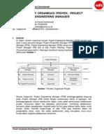 Struktur Organisasi Proyek Konstruksi